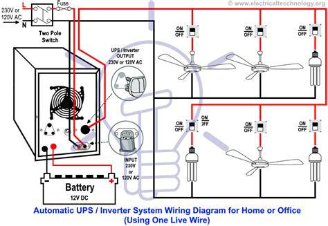 Inverter Home Wiring Diagram Pdf Review Decor