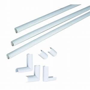 Baguette Pour Cable Electrique : cache fil arrondis rona ~ Premium-room.com Idées de Décoration