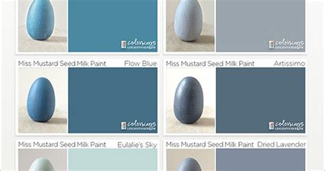 colorways miss mustard seed milk paint color swatch book ii