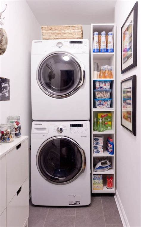 best 25 stacked washer dryer ideas on