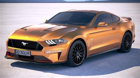 2018 Mustang Gt by Mustang 2018 Gt 3d C4d