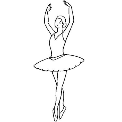 ballerina  ballet  position coloring pages coloring sky