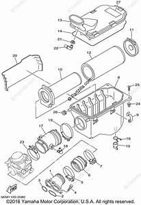 Yamaha Atv 2002 Oem Parts Diagram For Intake