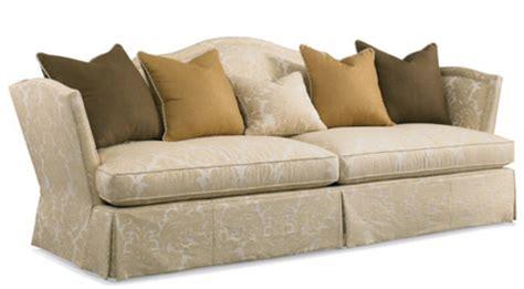 camel  sofa  skirt   hickory white sofas
