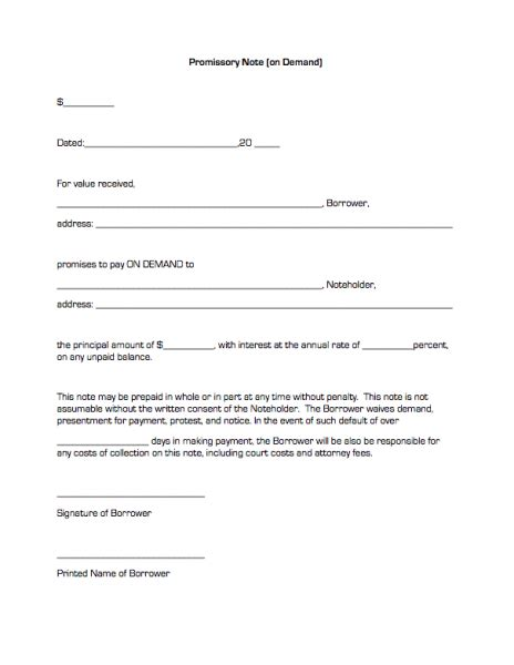 free promissory note template for personal loan promissory note template free doliquid