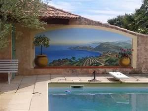 trompe l oeil exterieur jardin estein design With trompe l oeil exterieur jardin 3 decoration graffiti trompe loeil