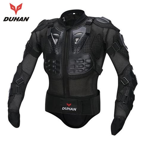 motorcycle protective gear duhan men 39 s motorcycle jacket protective body armor