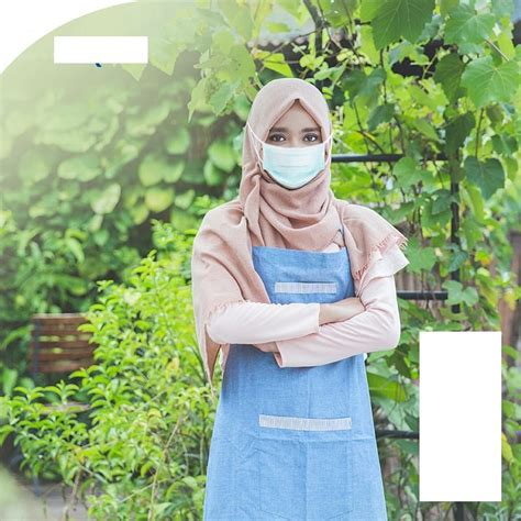 ready stock nexcare hijab  ply disposable face mask