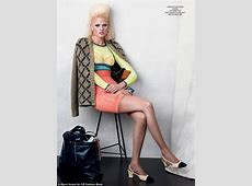 Lara Stone models a massive mulletstyle 'do in new shoot