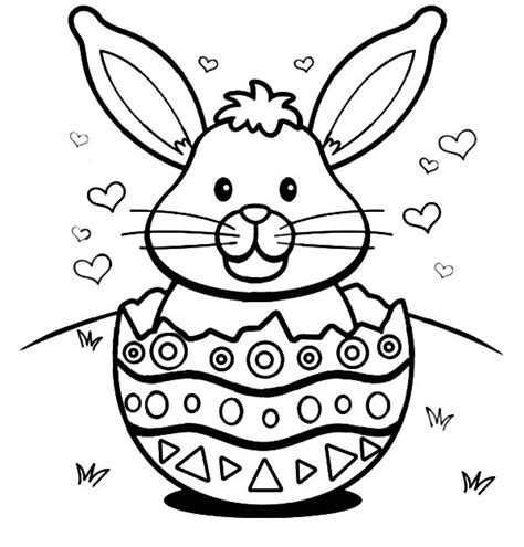 Color Pages Easter by Color Pages Easter Bunny The Color Panda