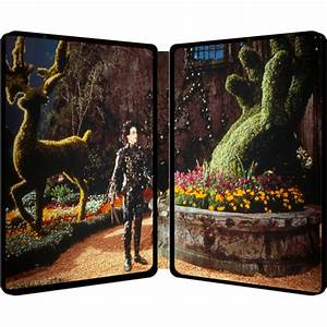 Edward Scissorhands Limited Edition Steelbook Includes