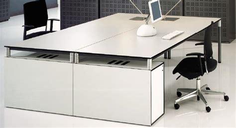 mobilier bureau design bureau blanc laqué pas cher