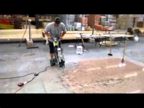 how to remove floor tile floor demolition jackhammer