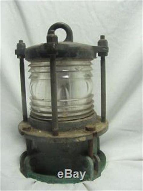 Bronze Boat Navigation Lights by Vintage Antique Brass Bronze Boat Ship Navy Navigation
