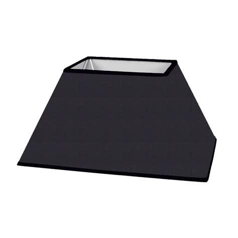 abat jour rectangulaire noir abat jour rectangulaire pyramidal
