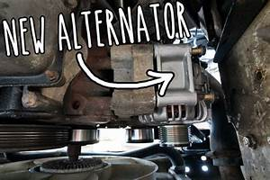 Breaking Down And Fixing It  U2013 How I Changed The Alternator