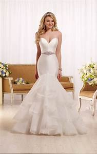 fit and flare wedding dress with sweetheart neckline With fit and flare wedding dress with sweetheart neckline