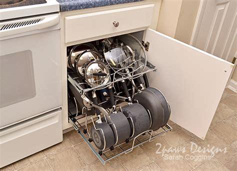 Kitchen Pots And Pans Organizer  2paws Designs