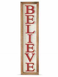 Vertical, Believe, Sign