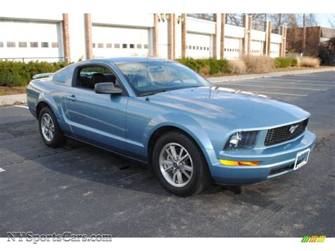 2005 Ford Mustang Coupe by 2005 Ford Mustang V6 Premium Coupe In Windveil Blue