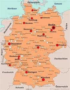 Schönsten Städte Deutschland : st dte in deutschland landkarte ~ Frokenaadalensverden.com Haus und Dekorationen