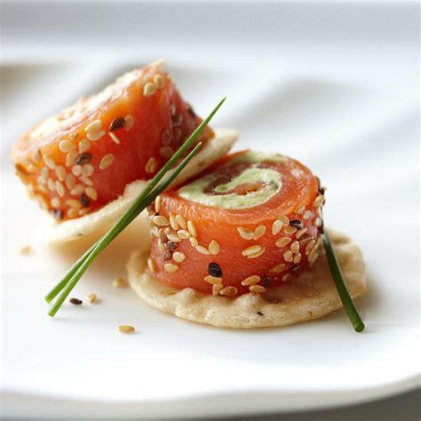 canap saumon fum saumon fumé châtelaine