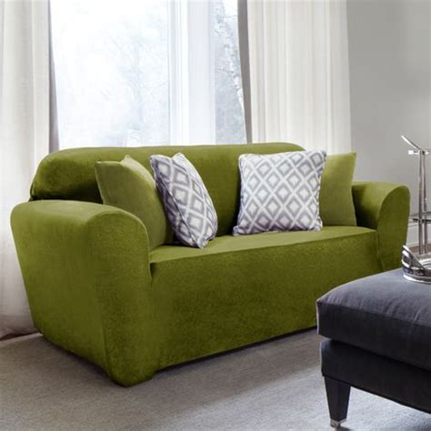 Sure Fit Sofa Covers Canada by Sure Fit Maude Velvet Stretch Sofa Slipcover Walmart Canada