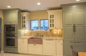 sage green kitchen cream cabinets ivory kitchen with With best brand of paint for kitchen cabinets with never stop exploring wall art