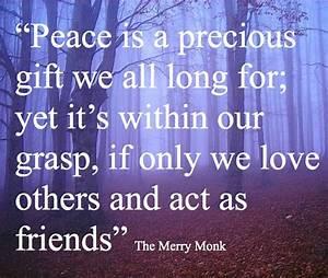 15 best Motivat... Peace Friendship Quotes