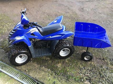 Enquire online or call 01623 708 607. kids 50cc Quadzilla quad bike and trailer | in Broughshane, County Antrim | Gumtree