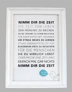 Zitate Gemeinsame Zeit : nimm dir zeit dekorieren spr che drucken und geschenke ~ Orissabook.com Haus und Dekorationen