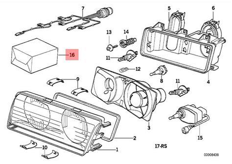 Genuine Bmw Series Repair Kit Headlight Oem