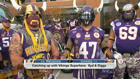 nfl mega fan quiz minnesota vikings super fans nfl videos
