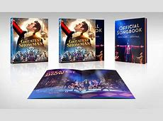 The Greatest Showman Bluray+DVD+DC+Official Songbook