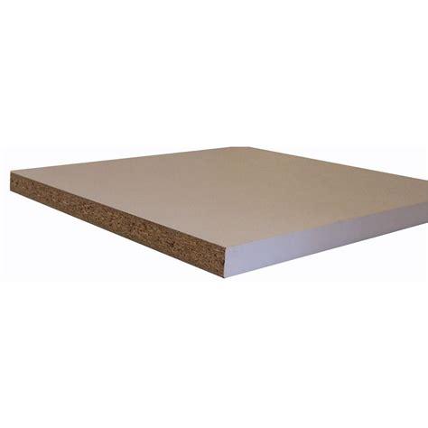 Melamine Shelving by 3 4 In X 15 3 4 In X 4 Ft White Shelving Melamine Board