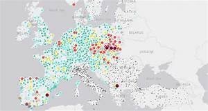 Carte Pollution Air : une carte interactive sur la qualit de l 39 air en europe ~ Medecine-chirurgie-esthetiques.com Avis de Voitures