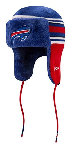 buffalo bills fur lined knit hat football theme hats