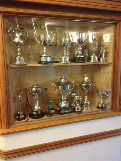 club house trophy cabinet  images trophy cabinets