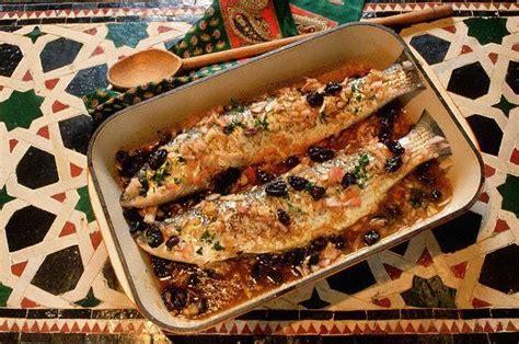 poisson cuisine marocaine poissons au four cuisine marocaine