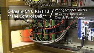 13 Wiring Stepper Drivers To Controller  U0026 Panel Mounts