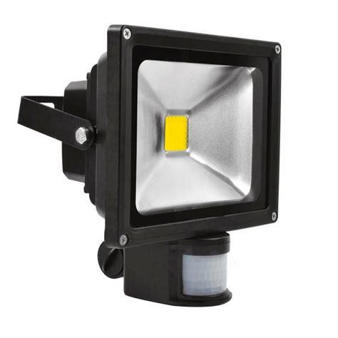 exterior flood lights motion sensor 10w 20w 30w ac85 265v ip65 waterproof outdoor pir led