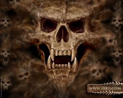 Skull Wallpapers Skulls Digital Vampire Cool Desktop