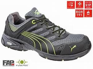 Chaussures De Securite Puma : chaussures de s curit basses fuse motion green 642520 puma debonix ~ Melissatoandfro.com Idées de Décoration