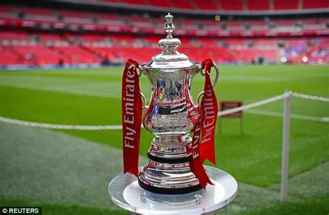 FA Cup DRAW LIVE: Arsenal vs Man City and Chelsea vs Spurs ...