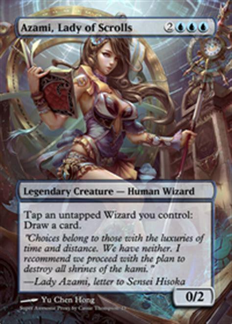 Competitive Edh Decks Tapped Out by Dramatic Azami And The Scepter Paradox Commander Edh