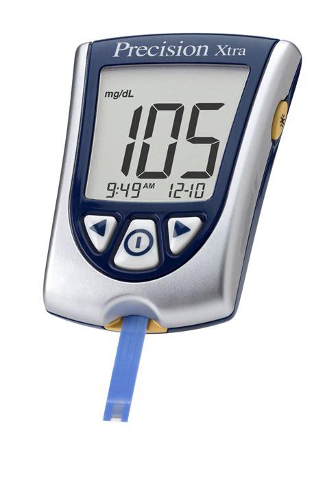 precision glucose meter diabetes healthy solutions