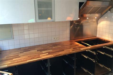 cuisine renovation plan de travail rénovation de cuisine avec plan de travail en chêne par gérard