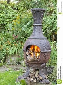 Barbecue De Jardin : flammes du feu en bois dans le barbecue de jardin de ~ Premium-room.com Idées de Décoration