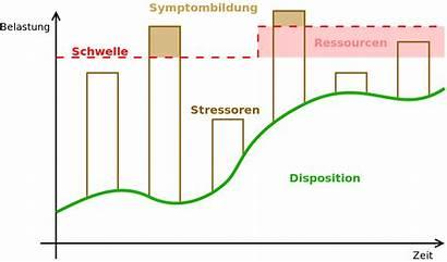 Stress Modell Diathese Wikipedia Svg Datei Schizophrenia