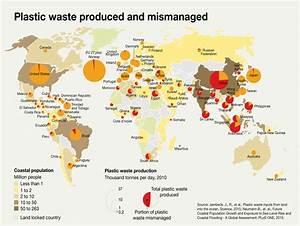 Geogarage Blog 8 Maps Show Plastic S Impact On The World